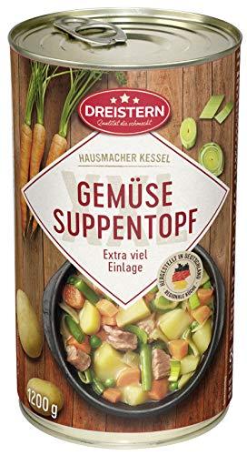 DREISTERN Gemüseeintopf mit Schweinefleisch, 1200 g