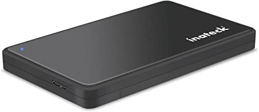 Inateck 2.5 Hard Drive Enclosure, USB 3.0 External Hard Drive Case, FE2004