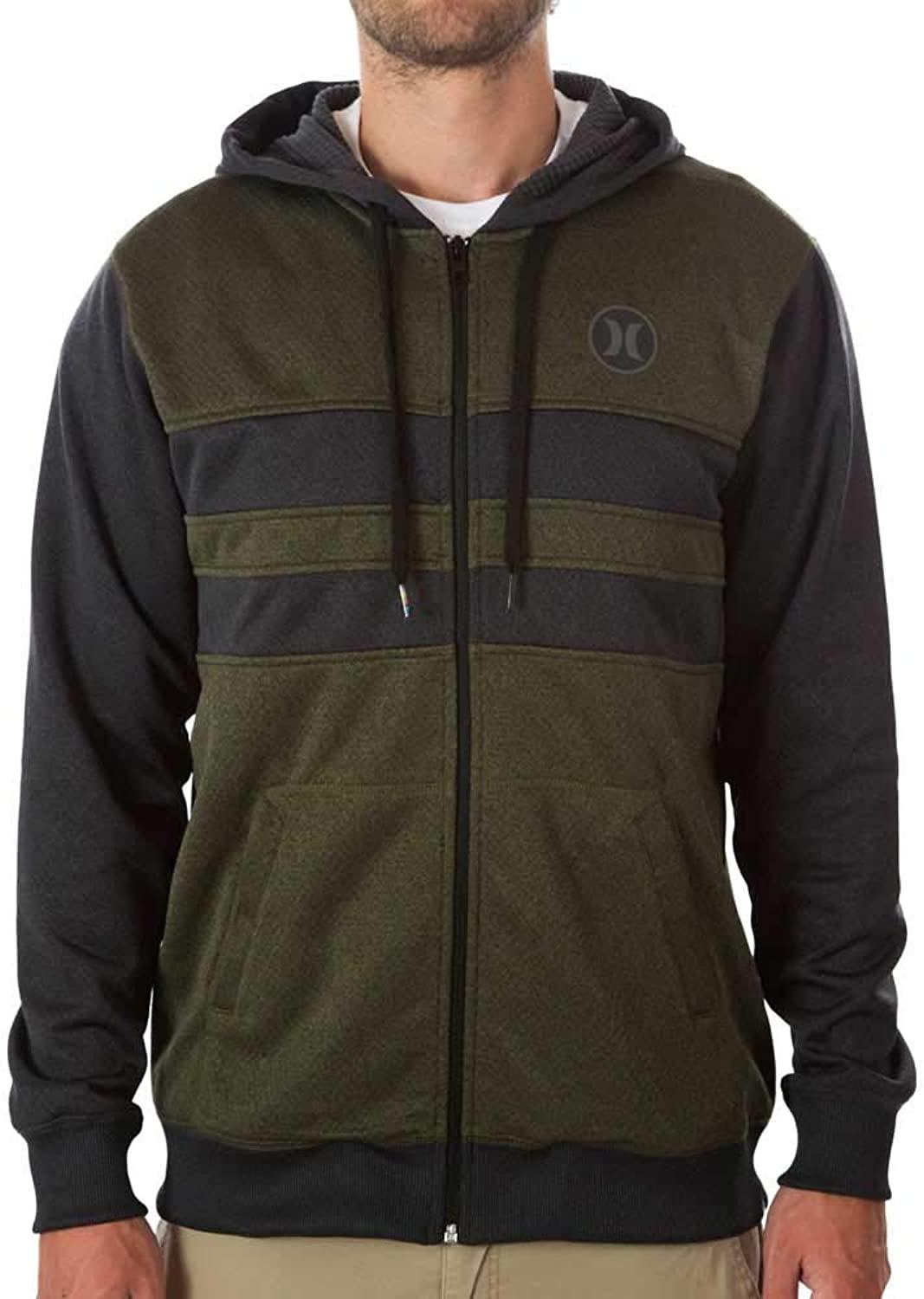 Hurley Herren Kaputzenjacke Therma-Fit Block Party