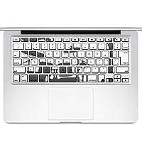 igsticker MacBook Air 13inch 2010 ~ 2017 専用 キーボード用スキンシール キートップ ステッカー A1466 A1369 Apple マックブック エア ノートパソコン アクセサリー 保護 014570 楽器 音楽 バンド