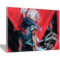 抽象的なアニメーションポスター、キャンバス壁画印刷、家の壁の装飾ギフト30x45cm(12x18inch)内枠