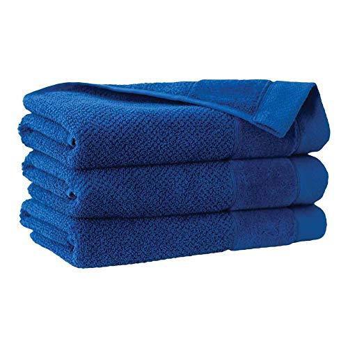 Zwoltex T-SMOOT70X140CHA Smooth handdoek, korenbloemkleurig, 70x140 maat
