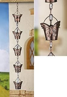 Decorative Butterfly Iron Rain Chain