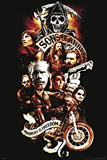 Pyramid Sons of Anarchy Collage Wall Poster