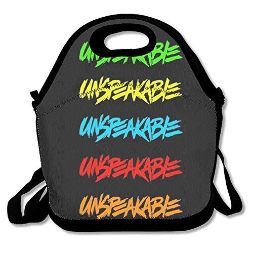 Bolsa de almuerzo para alimentos, bolsa térmica, nevera indescriptible para mujeres, hombres, trabajos, estudiantes y niños a la escuela
