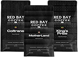 Whole Coffee Beans - Red Bay Motherland 3-Pack Gift Collection | Gourmet Medium Roast Whole Bean Coffee Best For Strong...