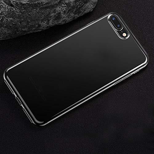 Transparante TPU-beschermhoes voor iPhone 7 Plus, druppelbestendig