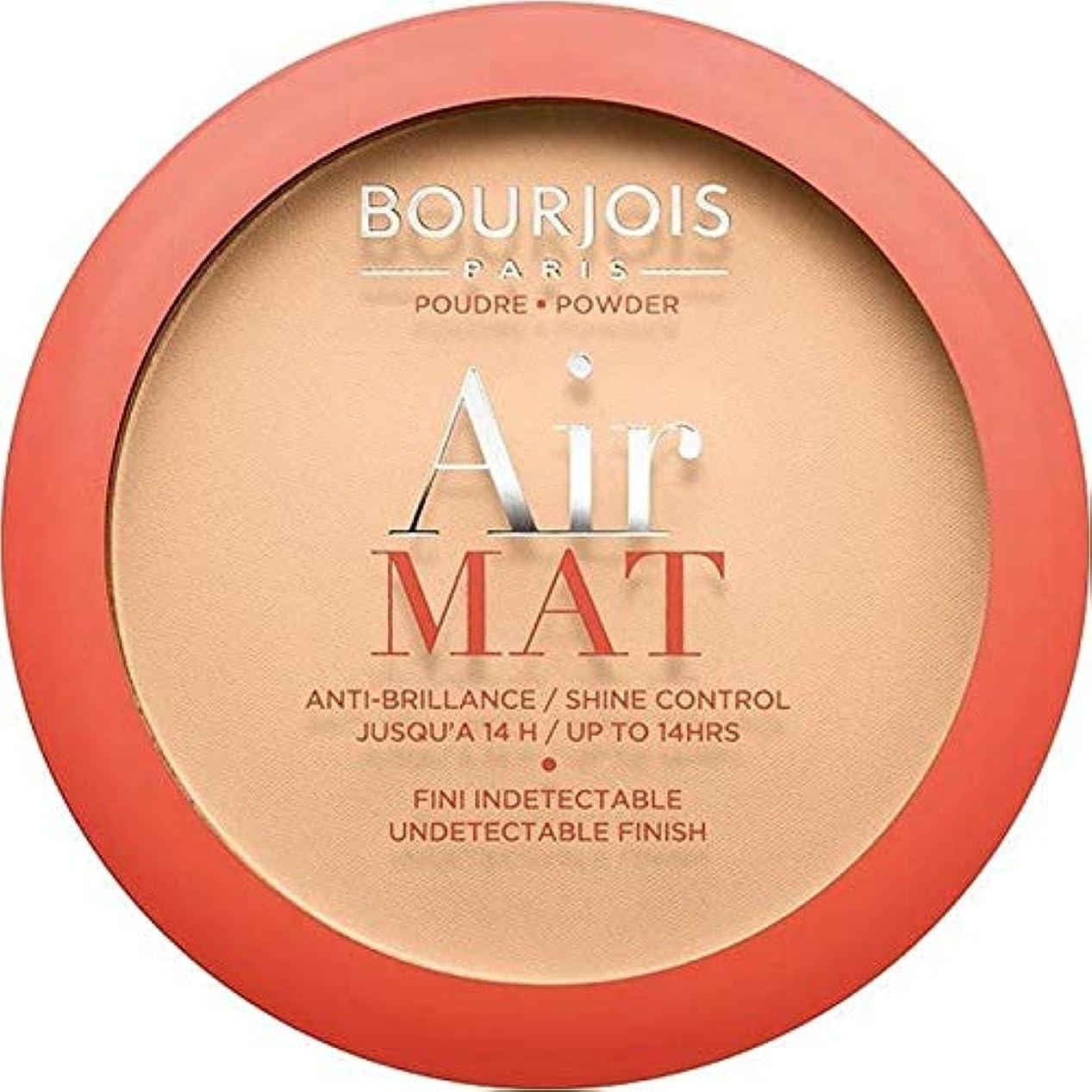 好意シャツ全く[Bourjois ] ブルジョワ空気マット圧粉 - ライトベージュ - Bourjois Air Mat Pressed Powder - Light Beige [並行輸入品]