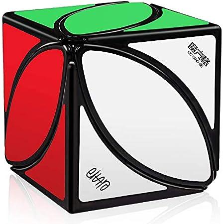QiYi マジックキューブ Ivy Cube Sticker 紅葉 魔方 達人向け 高級者向け ステッカーレス 世界基準配色 ポップ防止 脳トレ