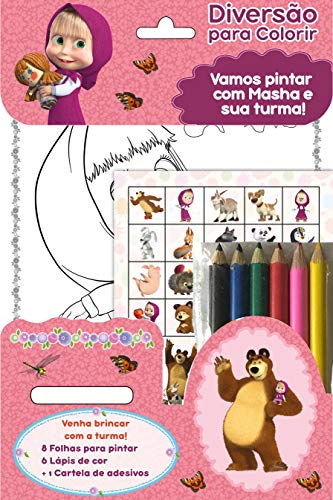 Masha e o Urso: Diversão Para Colorir