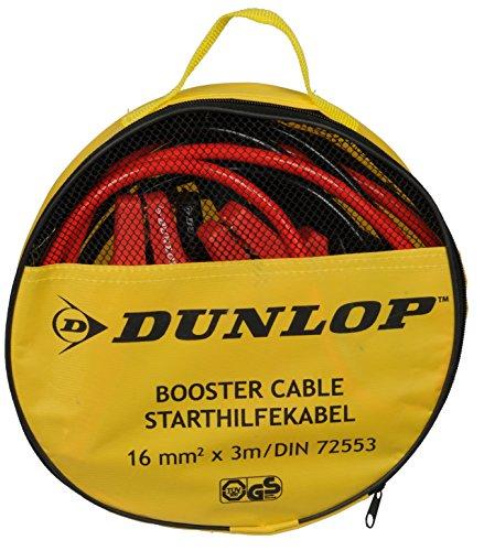 Dunlop 41855 Starthilfekabel in Aufbewahrungstasche, 16 mm2 x 3M/DIN 72553