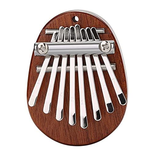 Zhou-YuXiang Mini Kalimba 8 Teclas Piano de Pulgar Gran Sonido Teclado de Dedo Instrumento Musical E4W Instrumento Musical portátil