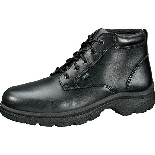 Thorogood Women's 534-6906 Soft Streets Series - Plain Toe Chukka, Non-Safety Toe Shoe, Black - 7.5 M US