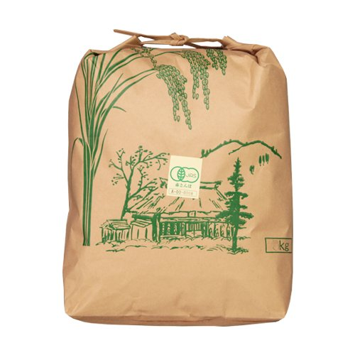 JAS認証 新潟産 有機栽培米コシヒカリ 玄米10kg あいざわ農園