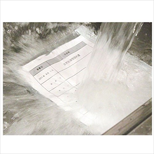 日本アイエスケイ 書類専用防水ケース 水害対策 日本製 A4用紙100枚封入可 クリア 33×25(底マチ1.2/1.2)cm WPS-A4SL