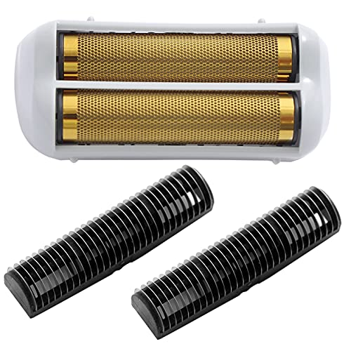 Cosyonall Pro Shaver Replacement Foil and Cutters compatible with'andis shaver foil replacement' Golden
