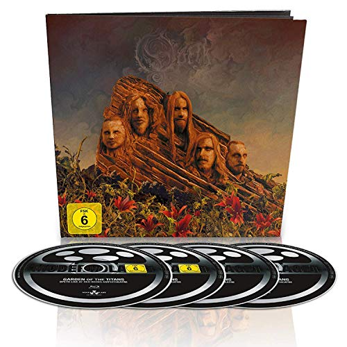 Opeth - Garden of the Titans (Live at Red Rocks Amphitheatre) (BR+DVD+2CD/Earbook) - Limited Edition [Blu-ray]