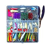 hjbds FUTES DE Pesca PREJADO MIXNOW Piler Cuchilla GANCKS Kit DE LUSE DE Pescado EN Caja ARTÍCULA ARTÍFICA Pesca Pesca Pesca Cebo (Color : 101pcs)