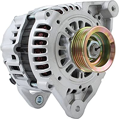 DB Electrical AHI0045 New Alternator for 3.3L 3.3 Nissan Frontier Xterra 99 00 01 02 1999 2000 2001 2002 113427 LR180-756B 13789 23100-4S100 1-2243-01HI ALT-3096