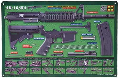 Tactical Atlas Gun Cleaning Mats OD Green AR15