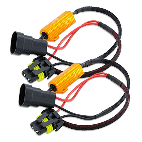 Hsun 9005 HB3 ampoule LED résistance de charge, 50 W 6 Ohm décodeur avertissement Canceller-canbus erreur gratuit