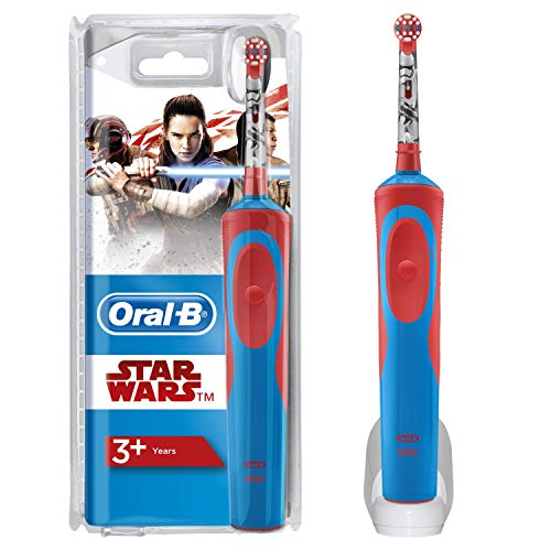 Oral-B Cepillo Eléctrico Niños de Star Wars, 1 Mango, 1 Cabezal De...