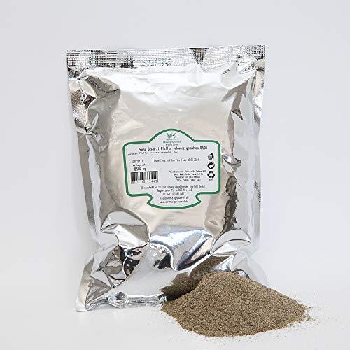 Pfeffer schwarz gemahlen Extra 0.500 kg, HoReCa, Prima Gewürzt, Gewürzgrosshandel Krefeld