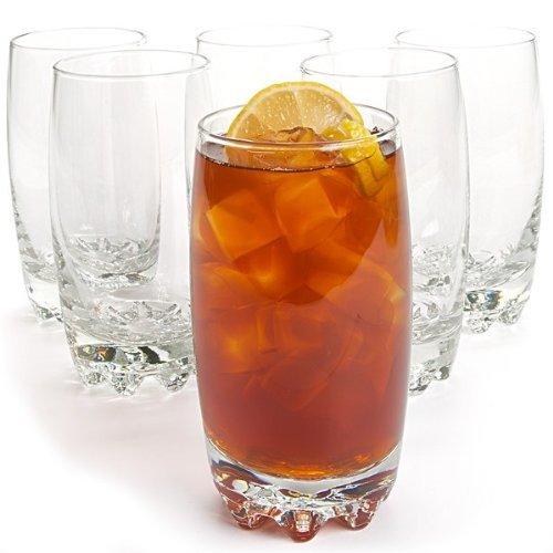 Bormioli Rocco Galassia Beverage Glass, Clear, 14 oz (Set of 6)