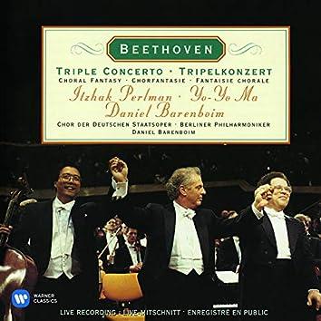 Beethoven: Triple Concerto, Op. 56 & Choral Fantasy, Op. 80