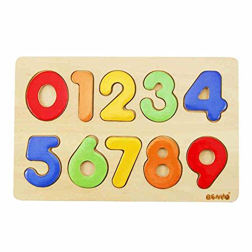 Jouets FEI en Bois Puzzles numérique Early Education Puzzle éducatifs Début Éducation