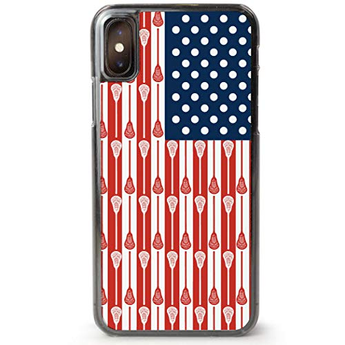 Guys Lacrosse iPhone 6/6S Case | USA Lacrosse Sticks Flag