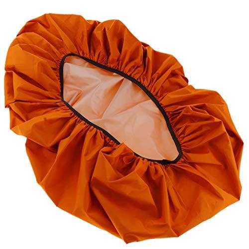 Homyl Housse de Pluie pour Sac à Dos - Orange, 80x60cm