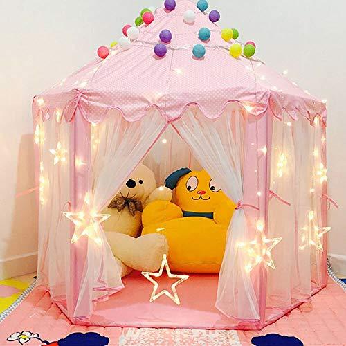 MINUS ONE Tenda da gioco per bambini per bambine, per interni ed esterni, tenda da gioco per bambini, tenda da gioco – Natale, regalo di compleanno per bambini