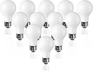 TCP Classic LED 60 Watt A19, 12 Pack, Energy Star, Daylight (5000K), 800 Lumens, Dimmable Light Bulbs