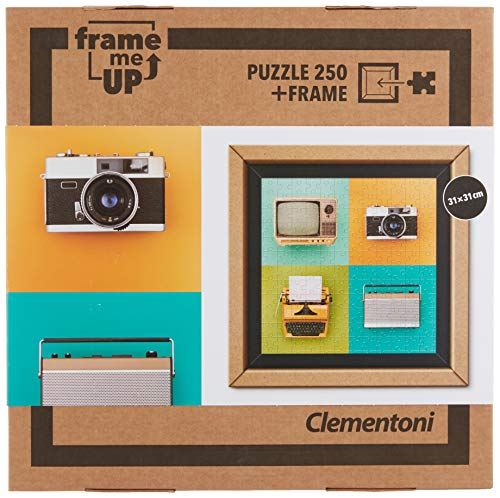 Clementoni- Puzzle 250 Piezas con Marco Vintage Electronics (38506.5)