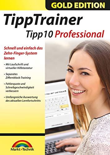 Tipp Trainer Professional 10 Finger System schnell gelernt für Windows 10, 8.1, 7, Vista und XP
