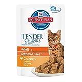 Hill's Science Plan Feline Chunks & Sauce Sac pour Adulte Poulet 85 g