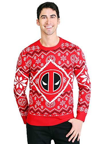 Men Deadpool Christmas Sweater