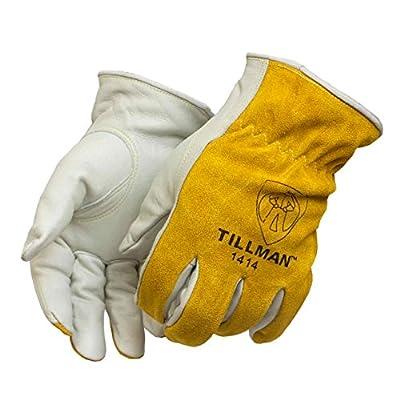 Tillman 1414 Top Grain/Split Cowhide Drivers Gloves