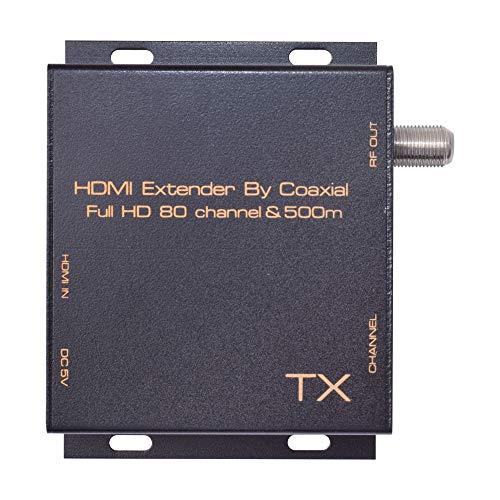 REFURBISHHOUSE Hdmi Dvb-T Modulador Convierta Se?al del Extensor Hdmi A Digital Dvb-T Hdmi A Dvb-T Modulador Receptor De TV Soporte RF Salida Enchufe De La UE