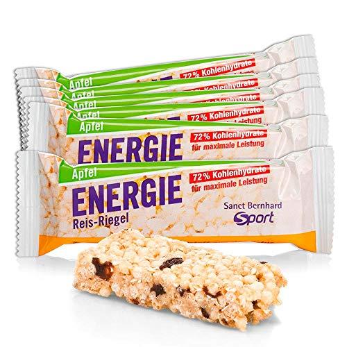 Sanct Bernhard Sport Energie Reis-Riegel Apfel 11er-Pack