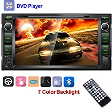 Double Din Car DVD Player 7'' High Digital TFT-LCD Touch Screen Bluetooth DVD/CD/MP3/USB/SD/AUX in Dash Car Stereo with Backup Camera Remote Control for Toyota Corolla