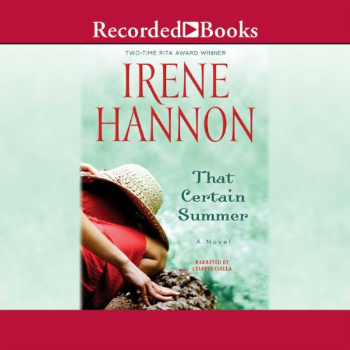 That Certain Summer                   By:                                                                                                                                 Irene Hannon                               Narrated by:                                                                                                                                 Celeste Ciulla                      Length: 9 hrs and 31 mins     101 ratings     Overall 4.3