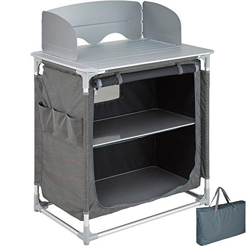 TecTake 800585 Outdoor Camping Küche - Diverse Modelle wähblar - (Typ 3 | Nr. 402921)