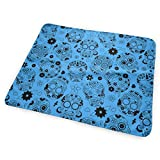Bikofhd Changing Pad Blue Dead Sugar Skull Portable Diaper Changing Pad - for Baby Showers Changing Mats and Reusable Detachable Wipe Able Mat- Unisex