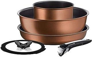 Tefal Ingenio Resource 5pc Set (IH) L67595 Brown