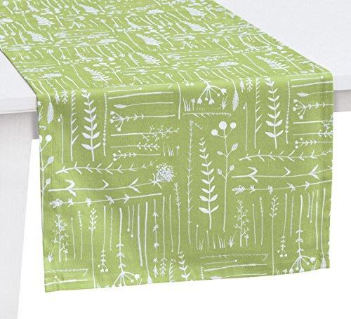 Pichler Tischläufer lindgrün Größe 50x150 cm