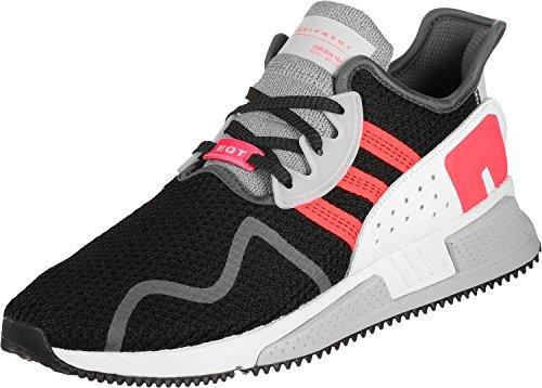 adidas Herren EQT Cushion ADV Fitnessschuhe, Schwarz (Negbás/Turbo/Ftwbla 000), 44 2/3 EU