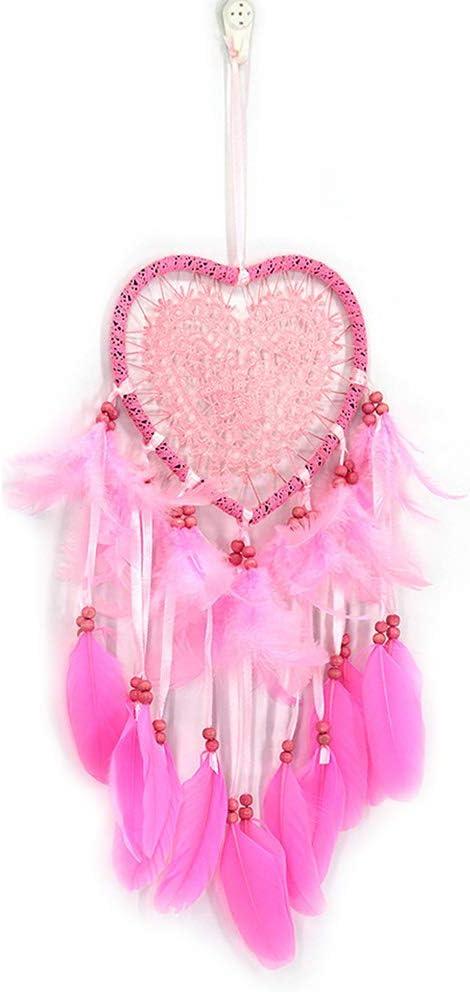ARTIBETTER Love Shape Dreamcatcher Hanging Lighted Superior Decorative Dr Sale special price