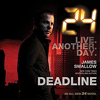 24: Deadline                   By:                                                                                                                                 James Swallow                               Narrated by:                                                                                                                                 Fred Berman                      Length: 10 hrs and 39 mins     22 ratings     Overall 4.1